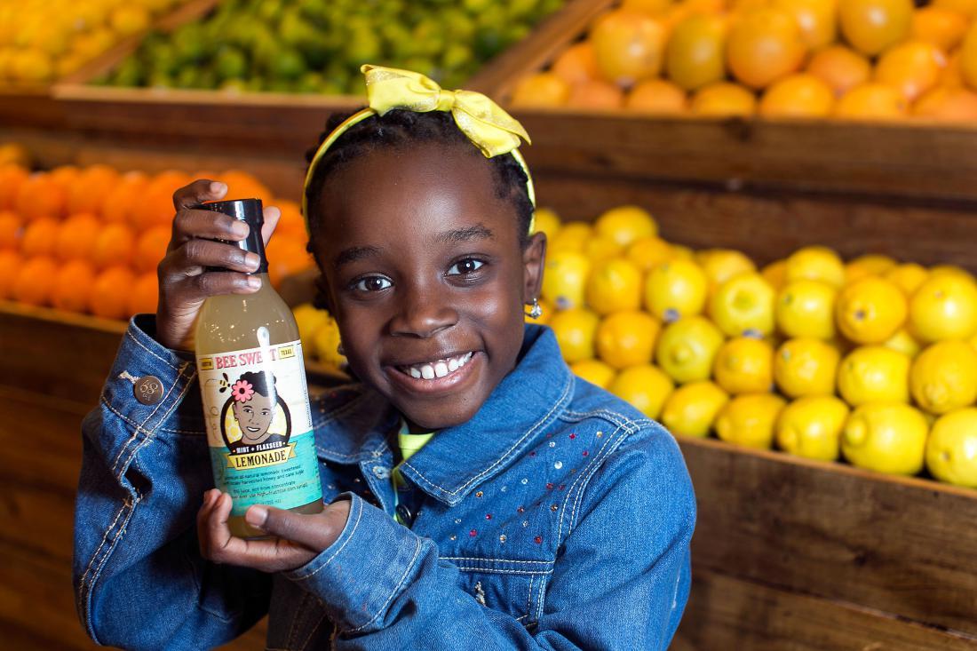 Quando a brincadeira vira negócio - Mikaila Ulmer vende seus produtos na Whole Foods