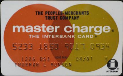 Primeiro master card
