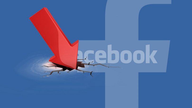 Queda no Facebook
