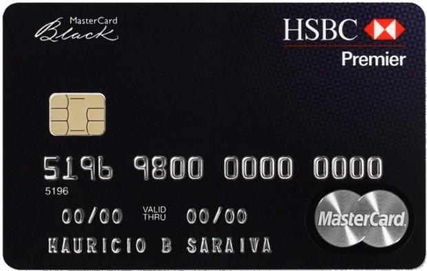 Simbolo de status - na imagem vemos um belo cartão Black da Master Card
