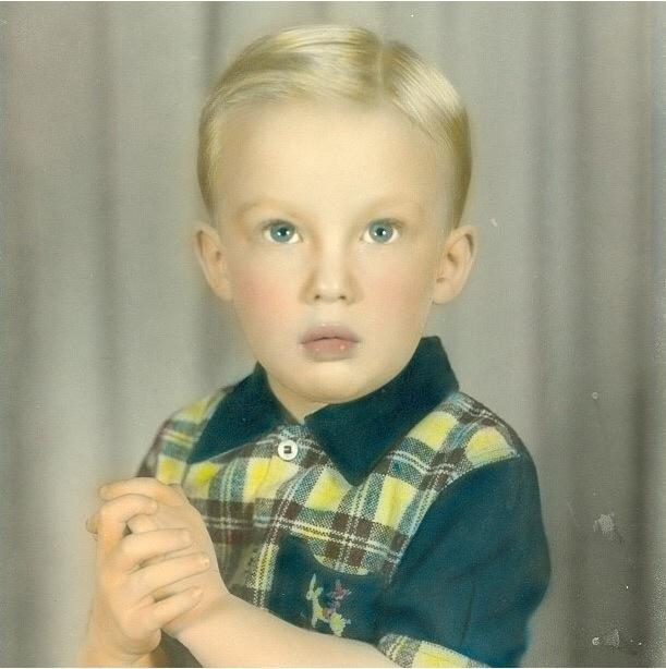Donald Trump criança