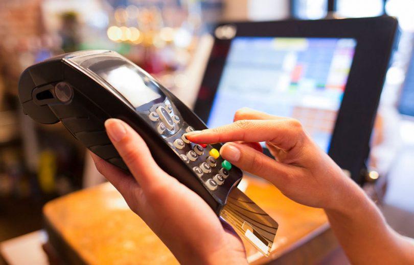 Maquinha de cartão de crédito