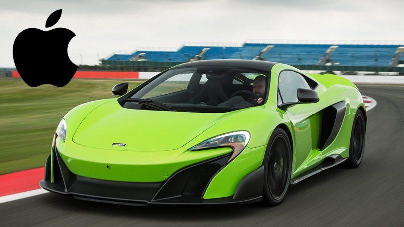 Apple estaria negociando aquisição da McLaren
