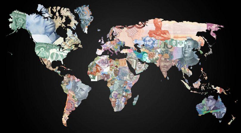 Moedas estrangeiras por país
