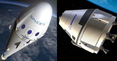 SpaceX e Boeing lutam pelo primeiro lugar em levar humanos a marte