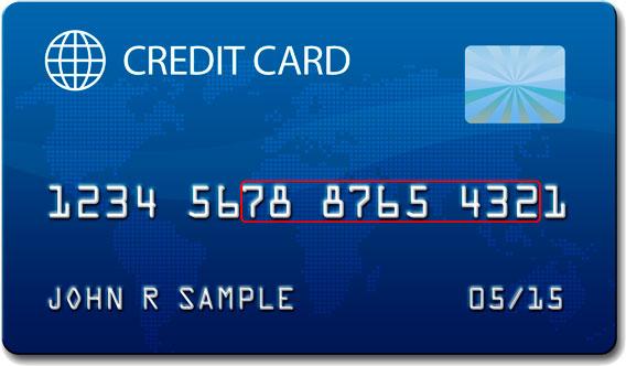 O que significam os números dos cartões de crédito